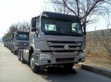 높은 범퍼를 가진 판매를 위한 HOWO 371HP 트랙터-트레일러 트럭