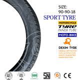 Zeitlimit des Motorrad-Motorrad-Reifen-Gummireifen-Sport-Gummireifen-90/90-18 Tt