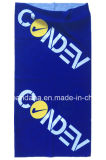 Продукция OEM подгоняла напечатанную логосом буйволовую кожу шарфа головки пестрого платка выдвиженческих спортов голубую