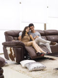 Le sofa énorme a placé avec le système stéréo de Bluetooth pour la villa