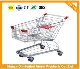 60L chariot à chariot de roues du supermarché 4, chariot de achat, caddie