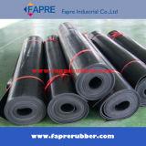 Black Red SBR Rubber Sheet Roll Mat
