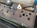 Machine d'enduit de écriture de labels auto-adhésive latérale adhésive de fonte chaude double
