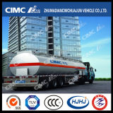 Petroleiro novo do combustível/gasolina/gasolina da liga de alumínio de 20-60cbm 3axle/Oil/LPG