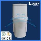 Articles sanitaires Siphonic vidant, prix en céramique chinois de toilette de carte de travail d'une seule pièce, toilette chinoise de toilette d'une seule pièce avec le prix bon marché