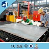 Gru della costruzione del materiale e del personale
