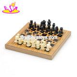 Melhor Venda verificadores clássico jogo de xadrez chinês de madeira para crianças W11A096