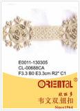 Merletto squisito anelastico Cl-00688ca di modo beige