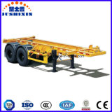 Dois Eixos 20FT Skeletal Container Semi-Trailer / Skeleton Container Chassis