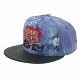El año 2015 Popular bordado y tejido animal Flor Snapback Hat (GK15-L0003)