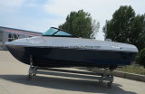 Aqualand 15feet 4.6mのガラス繊維の漁船かスポーツボートまたは速度のモーターボート(150BR)