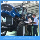Granja / Agricultura 140HP 4WD Tractor con 6 cilindros Cambio del motor / de la lanzadera