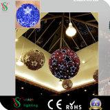 3D Licht van het Motief van Kerstmis van de Slinger voor de Decoratie van het Winkelcomplex