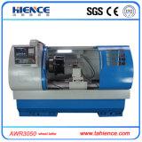 알루미늄 합금 CNC 바퀴 수선 기계 선반 Awr3050