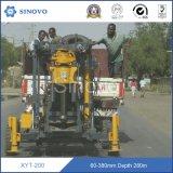 Plate-forme de forage portative montée par camion rotatoire chaud de puits d'eau de faisceau de puits d'eau de forage de vente