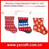 Bas chinois de Noël d'ornement de Noël de la décoration de Noël (ZY16Y008-1-2 50CM)