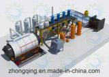 Pneumático para olear o recicl da planta 12tpd da pirólise