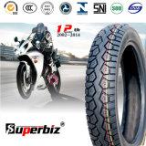 16 pouces nouveaux OEM 6pr de la courroie de nylon mélangés de caoutchouc naturel des pneus diagonaux Pattern vide moto pneu (110/90-16) avec l'ISO