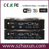 PC di Nvidia Gt520 Ion3 D2700 Mini Industrial, Fanless Industrial Computer, PC D2550, desktop computer di Embedded di Celeron 1037u