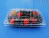 Contenitore impaccante della frutta di plastica dell'animale domestico per il mirtillo 400 grammi