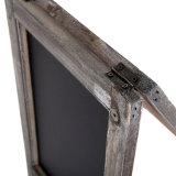 Lavagna del blocco per grafici di legno del calendario di scrittorio
