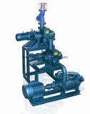 공기 이젝터를 가진 물 또는 액체 반지 진공 펌프