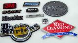 Emblema plástico de la insignia del coche