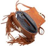 Borse di cuoio della spalla di vendite delle borse sulle borse del cuoio di sconto di vendita Nizza