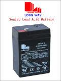 6V4.5ah Brinquedos Bateria Bateria elétrica Scooter Bateria de escala elétrica