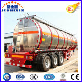 3半車軸45cbmアルミ合金1つのコンパートメントが付いているディーゼルガソリン燃料のガソリン石油タンカーのトレーラー