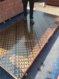 印刷された銘柄のフィルムとの中国の価格のポプラのコア1220X2440は合板の製造者に直面した