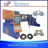 CNC van de brug de Scherpe Machine van de Plaat van het Staal met het Knipsel van het Plasma