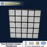 Износоустойчивая резиновый керамическая плитка для парашюта зерна (размера: 300*300, 500*500mm)