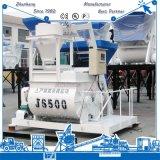 セメントの販売のための工学機械装置の倍の水平Js500具体的なミキサー