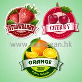 Kundenspezifische wasserdichte Frucht-selbstklebende Kennsätze