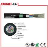 Câble de fibre optique échoué extérieur des faisceaux GYTA53 de l'usine 144 pour le réseau