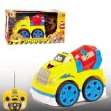 4 Le canal Cartoon plastique modèle Toy R/C Voiture avec lumière clignotante & Music (10214049)