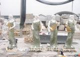 Statue de marbre/Sculpture sur pierre/Chine marbre