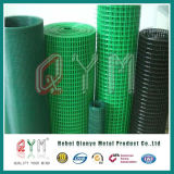 O PVC da alta qualidade revestiu o engranzamento de fio soldado Rolls do aço inoxidável
