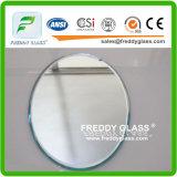 4m m y 5m m perfilaron el espejo de plata impermeable del cuarto de baño