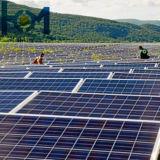 3.2Mm Ar-Coated Ultra transparente Templado de Vidrio solar con una alta ganancia de energía