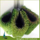 Grama artificial ambiental do uso do jardim