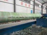 Gre/fibra de vidrio/tubo de plástico reforzado con fibra de la máquina de bobinado de filamento Zlrc