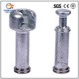 Tipo guarnición de la bola y del socket de extremo para los aisladores compuestos
