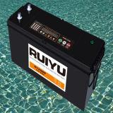 12V 120Ah sur les automobiles coréennes batterie plomb-acide de qualité