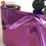 Film feuilletant thermique olographe coloré/transparent de BOPP/Pet avec des configurations