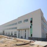 Construction préfabriquée de structure métallique de ferme avicole