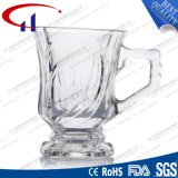 130ml vendem por atacado o copo do vidro de sílex para o café (CHM8151)