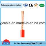 Único cabo isolado PVC do fio BV/RV para o edifício e a habitação social