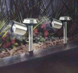 Lumière solaire d'acier inoxydable (LS-2004)